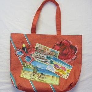 Lancome Tote Bag Fashion Beach French Summer Paris